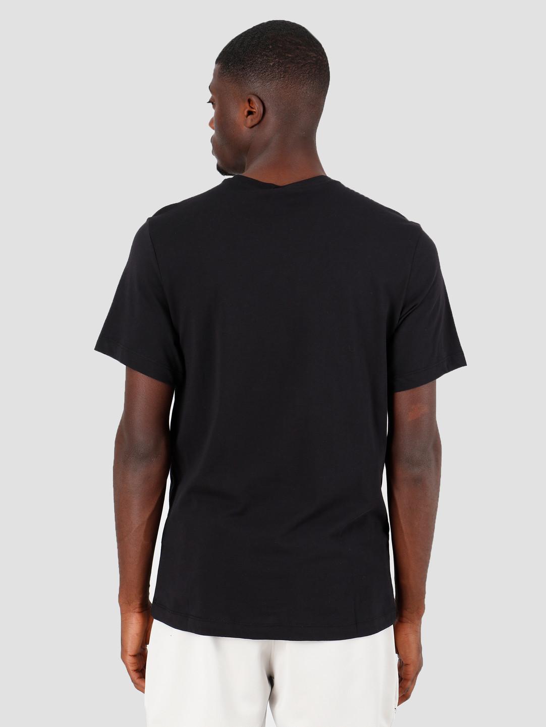 Nike NSW T Shirt Ftwr 1 Black White BV7551 010