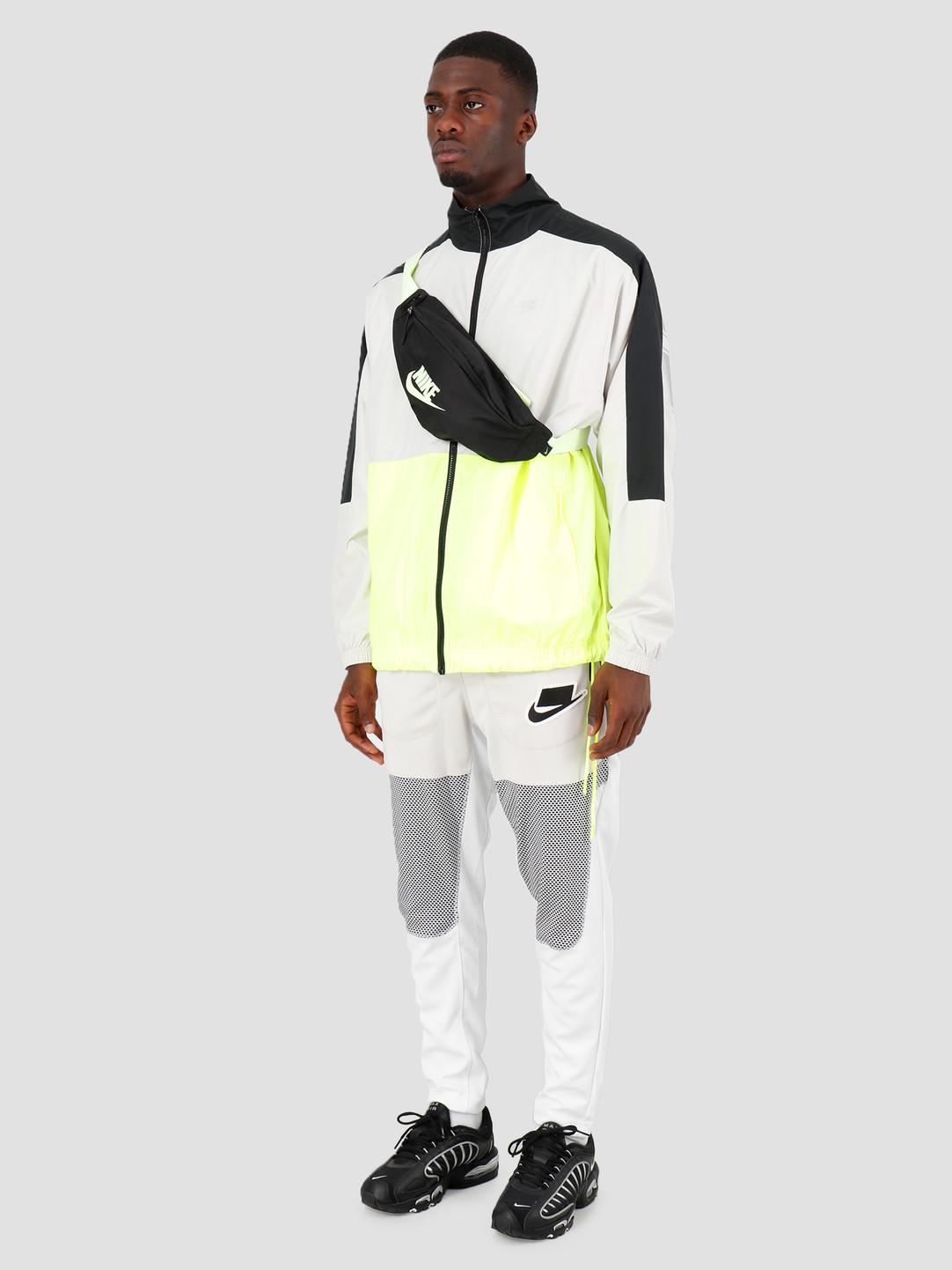 Nike Nike NSW Sc Woven Jacket Black Light Bone Volt Etallic Silver CQ0247-011