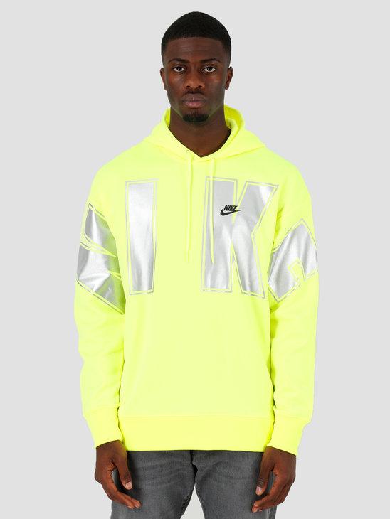 Nike NSW Sc Fleece Hoodie Po Volt Black CQ7517-702