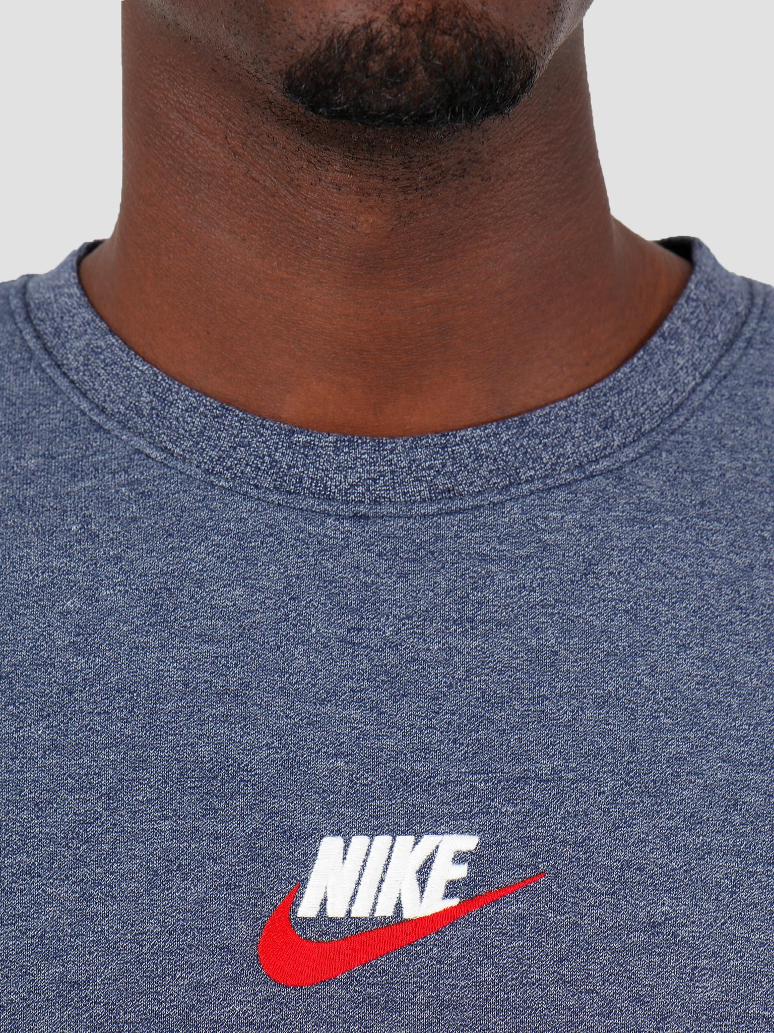 Nike Nike NSW Heritage Crw Idnight Navy Htr 928427-410