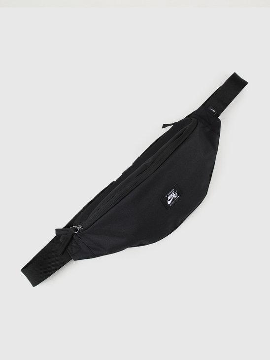 Nike SB Heritage Hip Pack Woven Black Black White BA6445-010