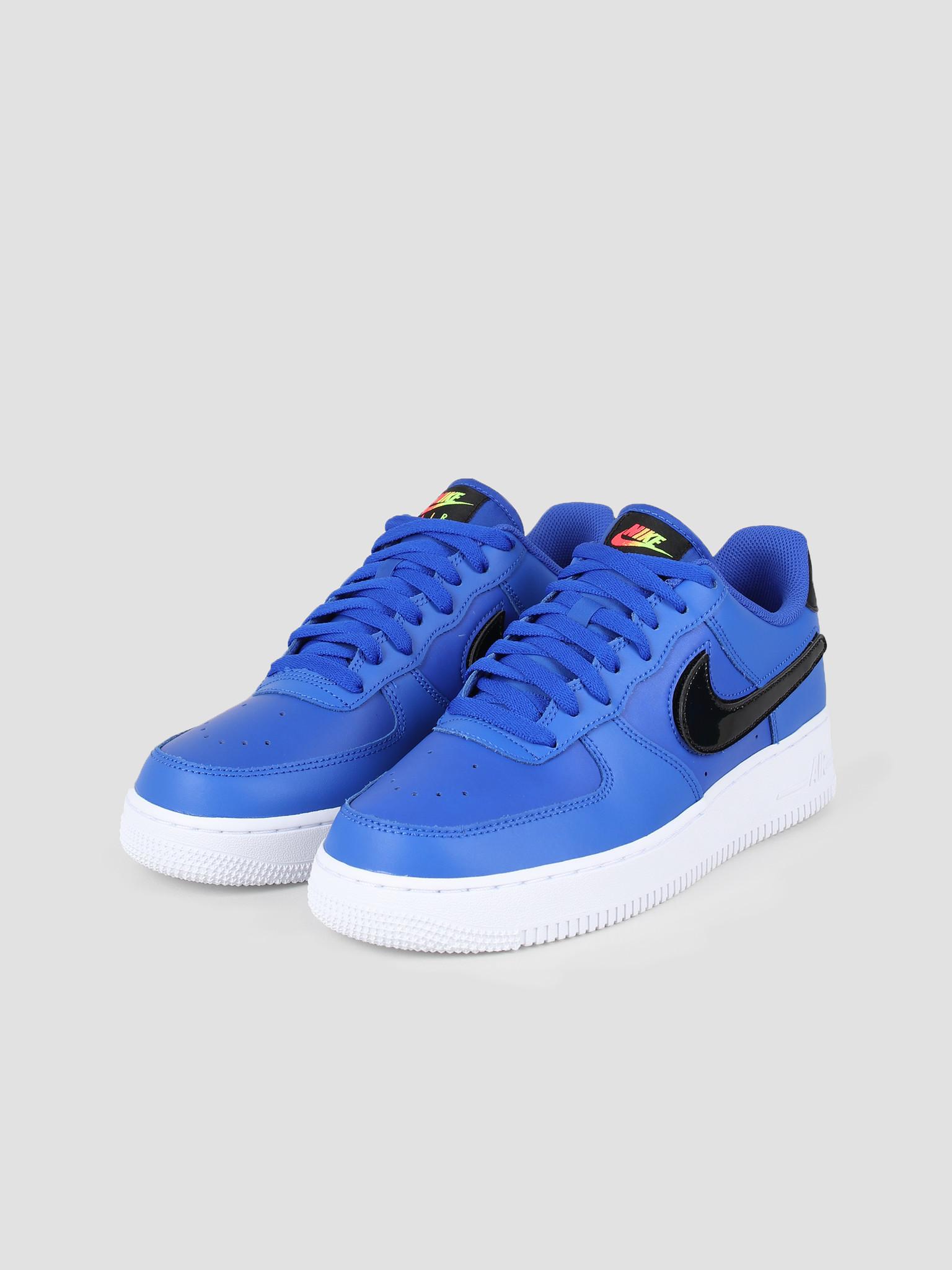 Nike Nike Air Force 1 07 Lv8 3 Racer Blue Vapor Green Black White CI0064-400