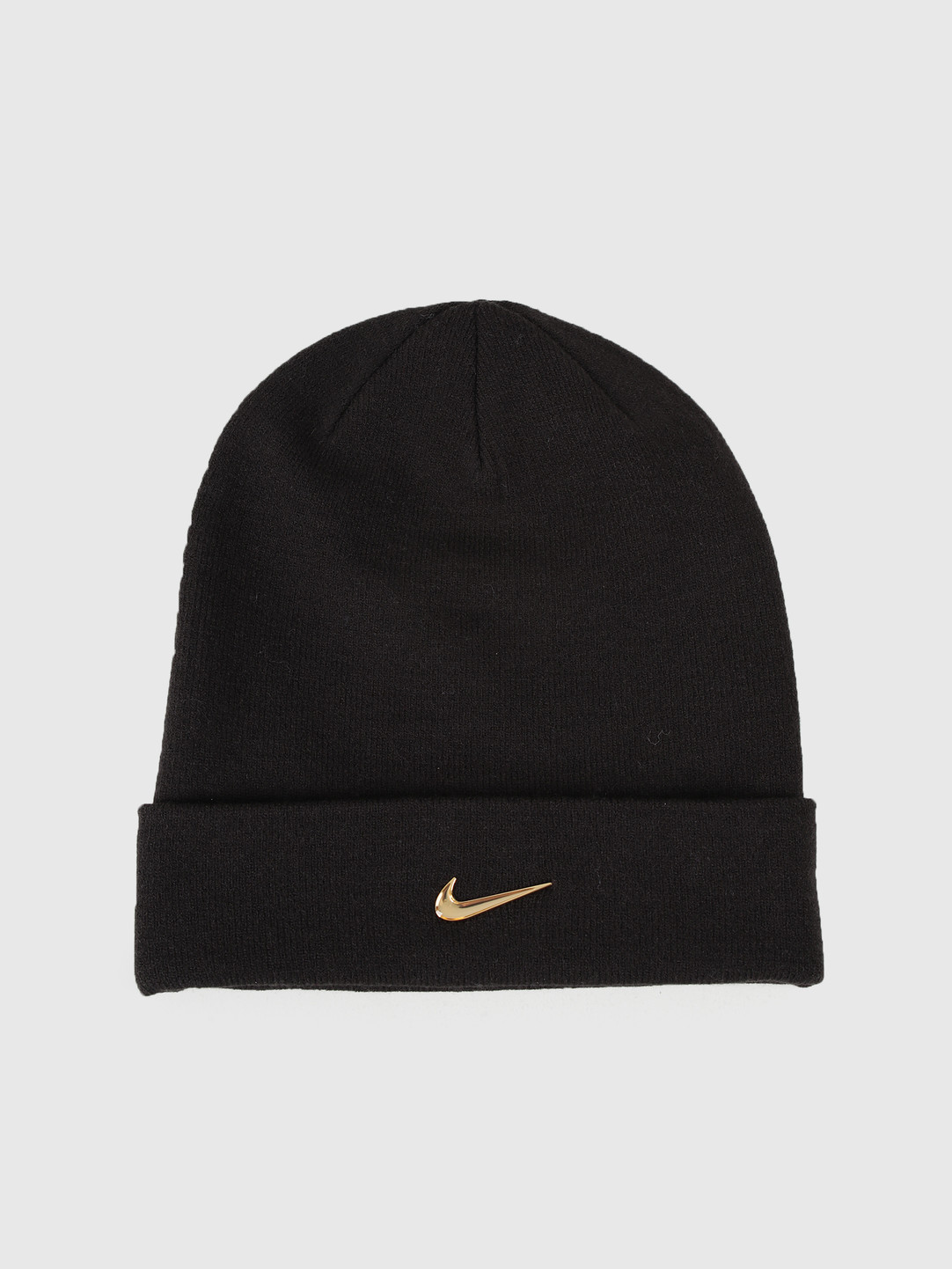 Nike Nike Swoosh Beanie Black Metallic Gold 803734-011