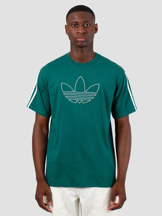 adidas Outline Tre T-Shirt Cgreen EJ7118