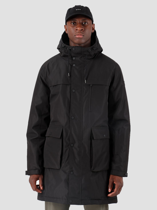 Quality Blanks QB25 Technical Parka Black