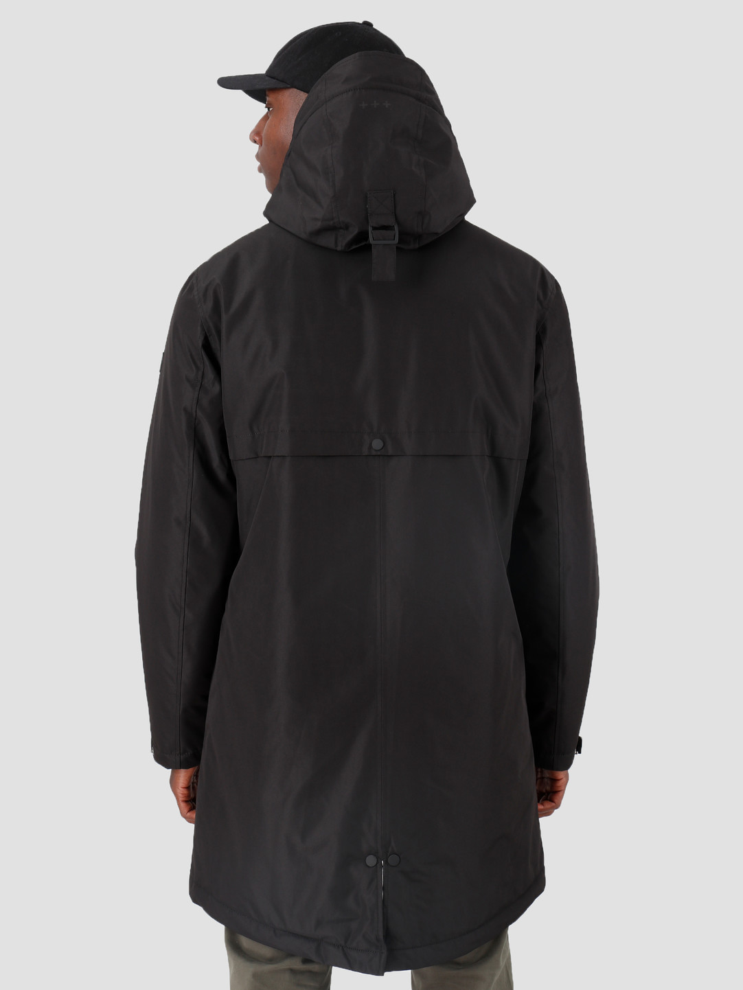 Quality Blanks Quality Blanks QB25 Technical Parka Black