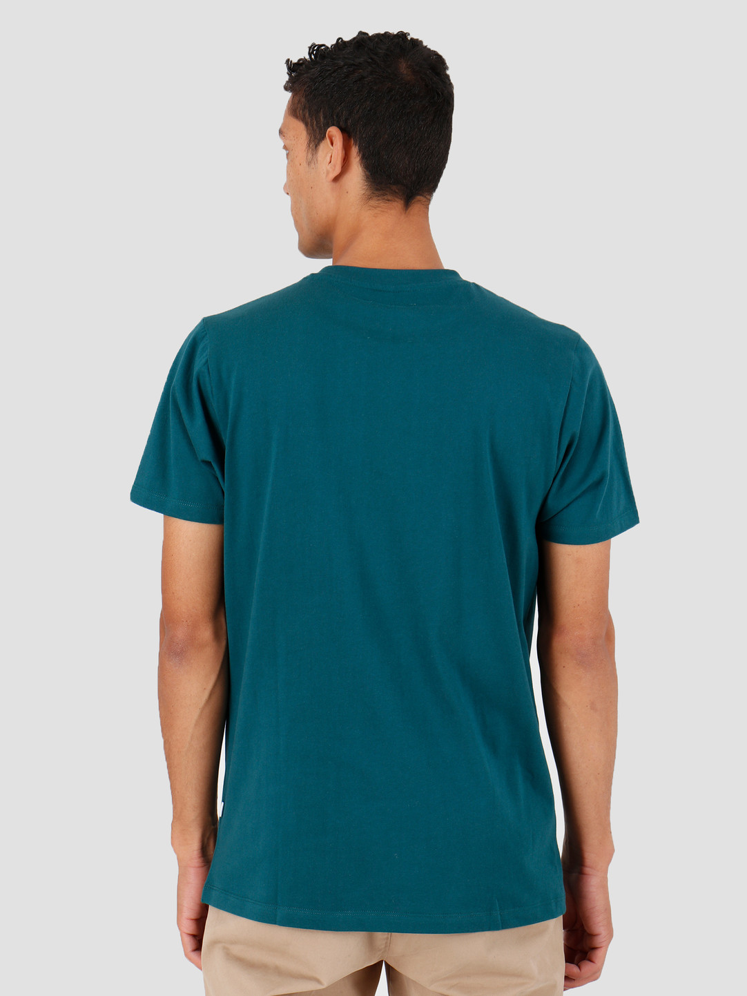 Quality Blanks Quality Blanks QB03 Patch Logo T-shirt Dark Teal