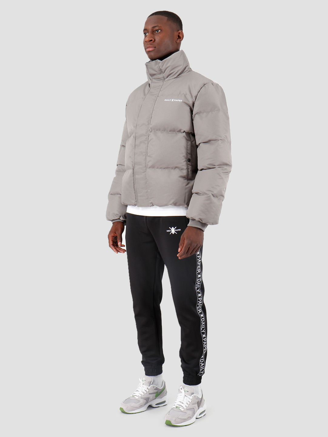 Daily Paper Daily Paper Core Puffer Grey Flannel 19F1OU13-03