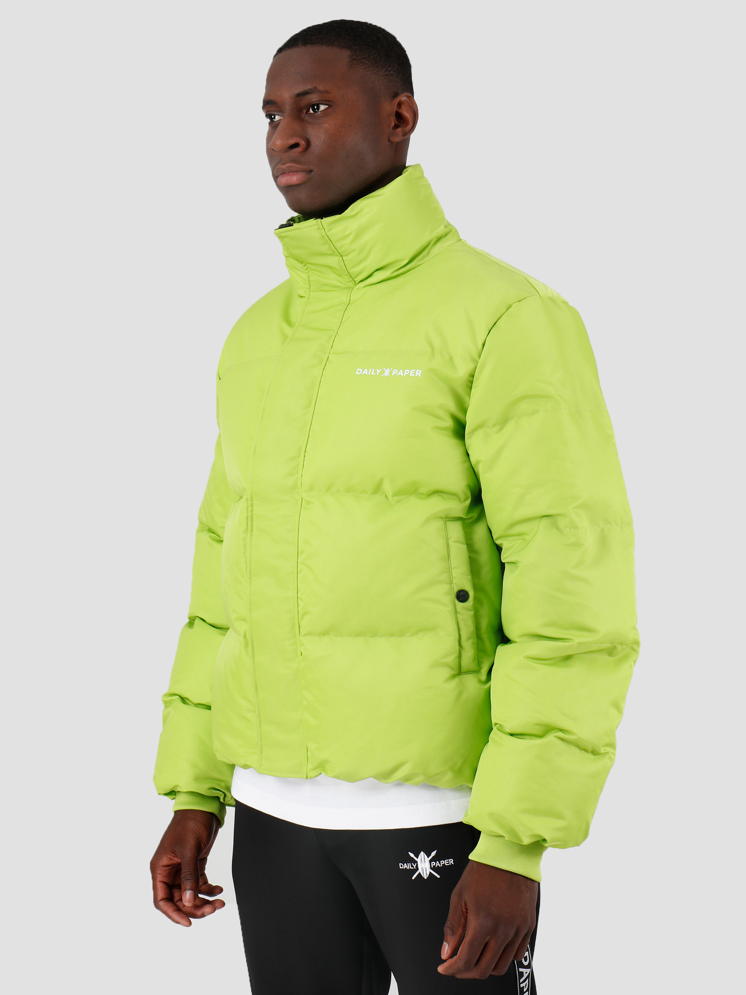 Daily Paper Daily Paper Core Puffer Macaw Green 19F1OU13-04