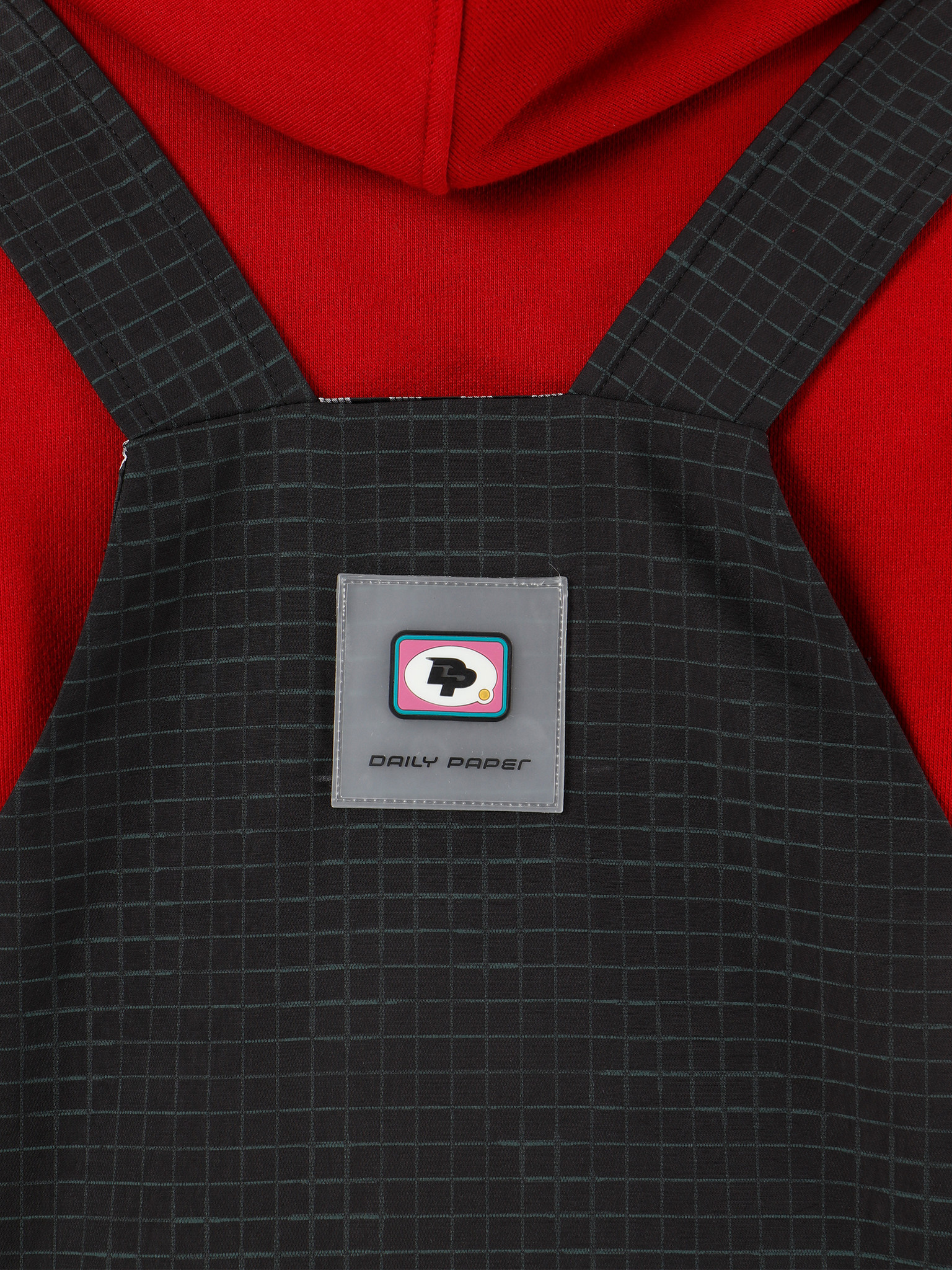 Daily Paper Daily Paper Gagrou Vest Black Green Check 19F1TO04-01