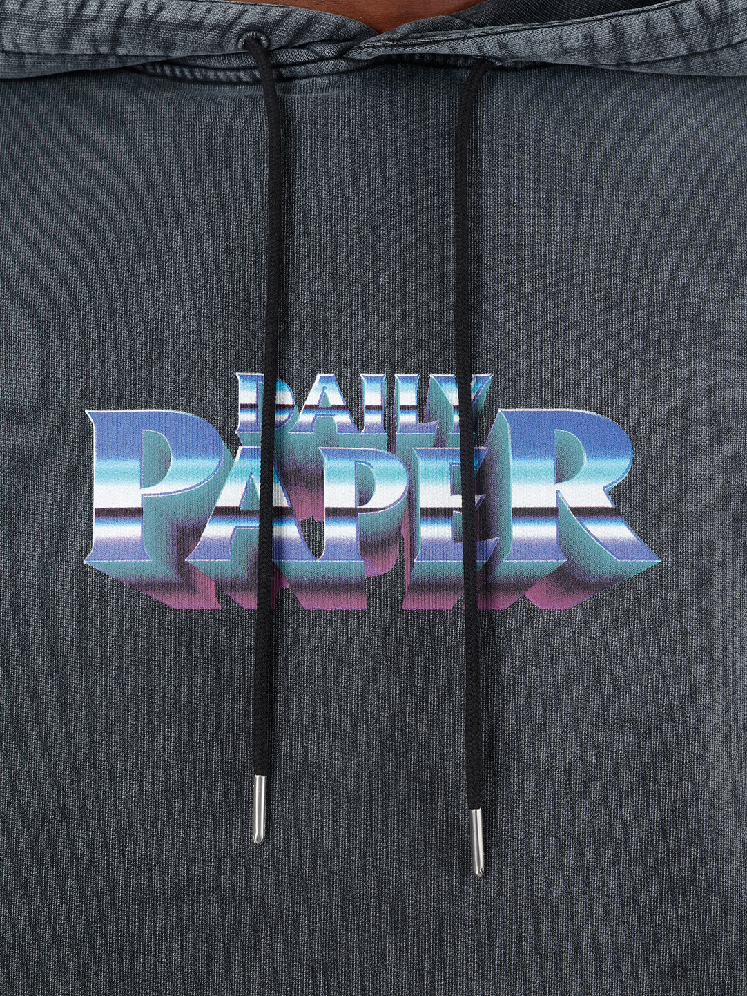 Daily Paper Daily Paper Galbacid Hoodie Acid Air Blue 19F1HD11-01