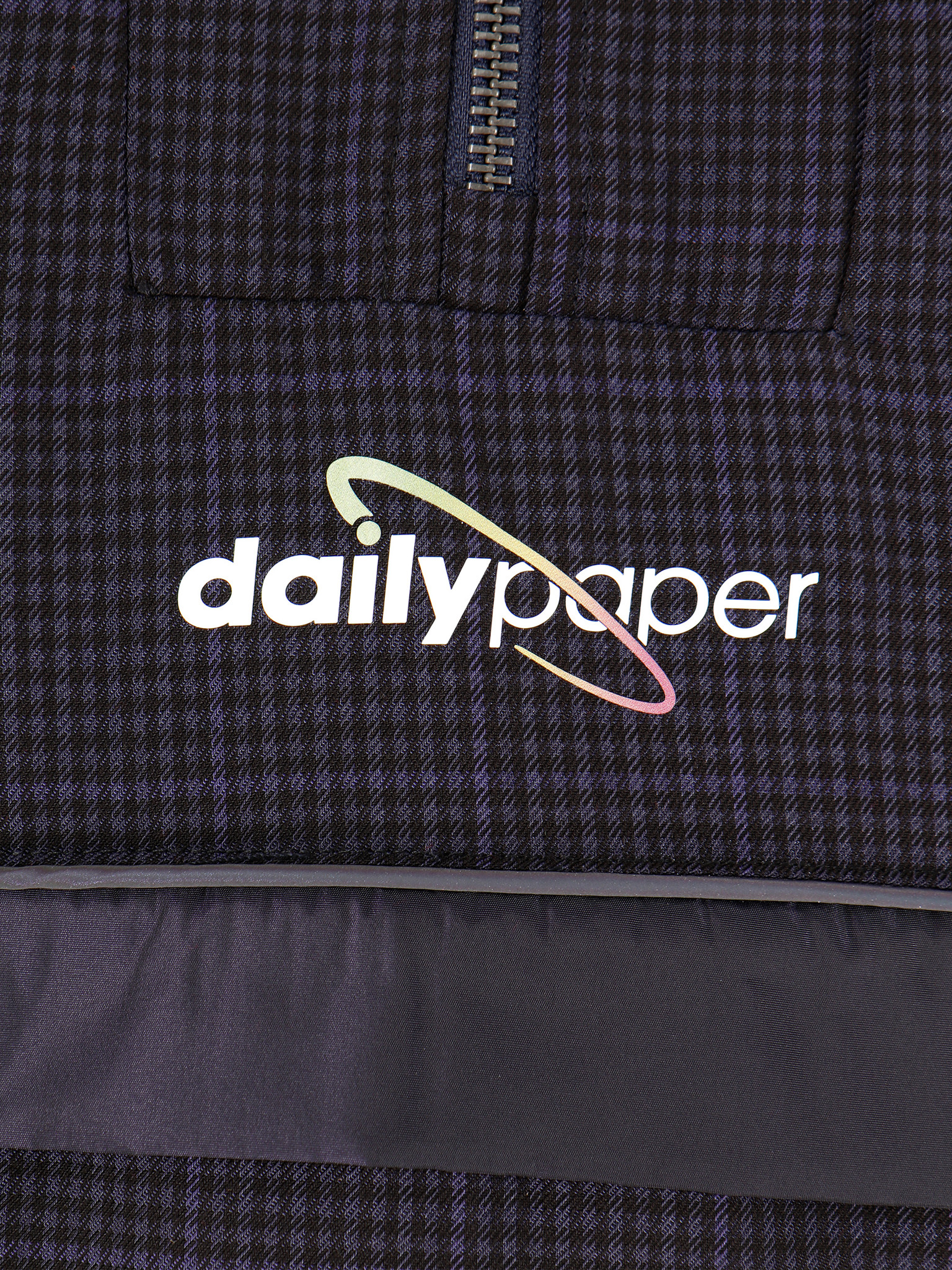 Daily Paper Daily Paper Gole Top Purple Check Metalic 19F1TO08-01