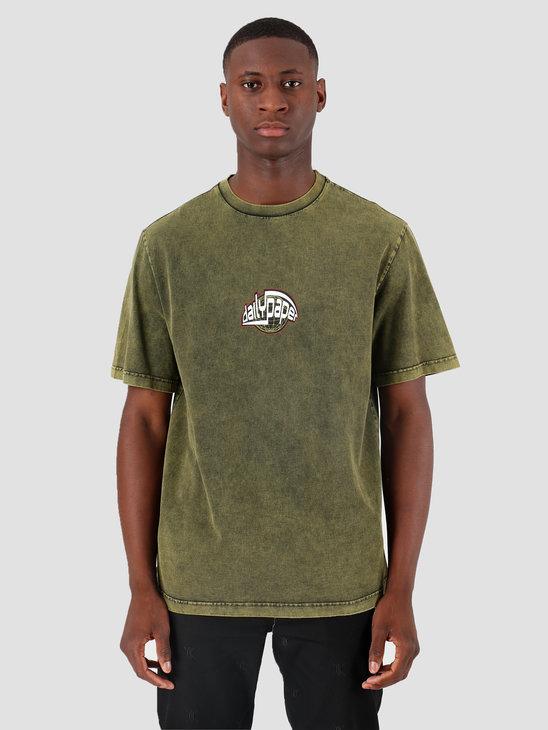 Daily Paper Gusul T-Shirt Acid Macaw Green 19F1TS27-02