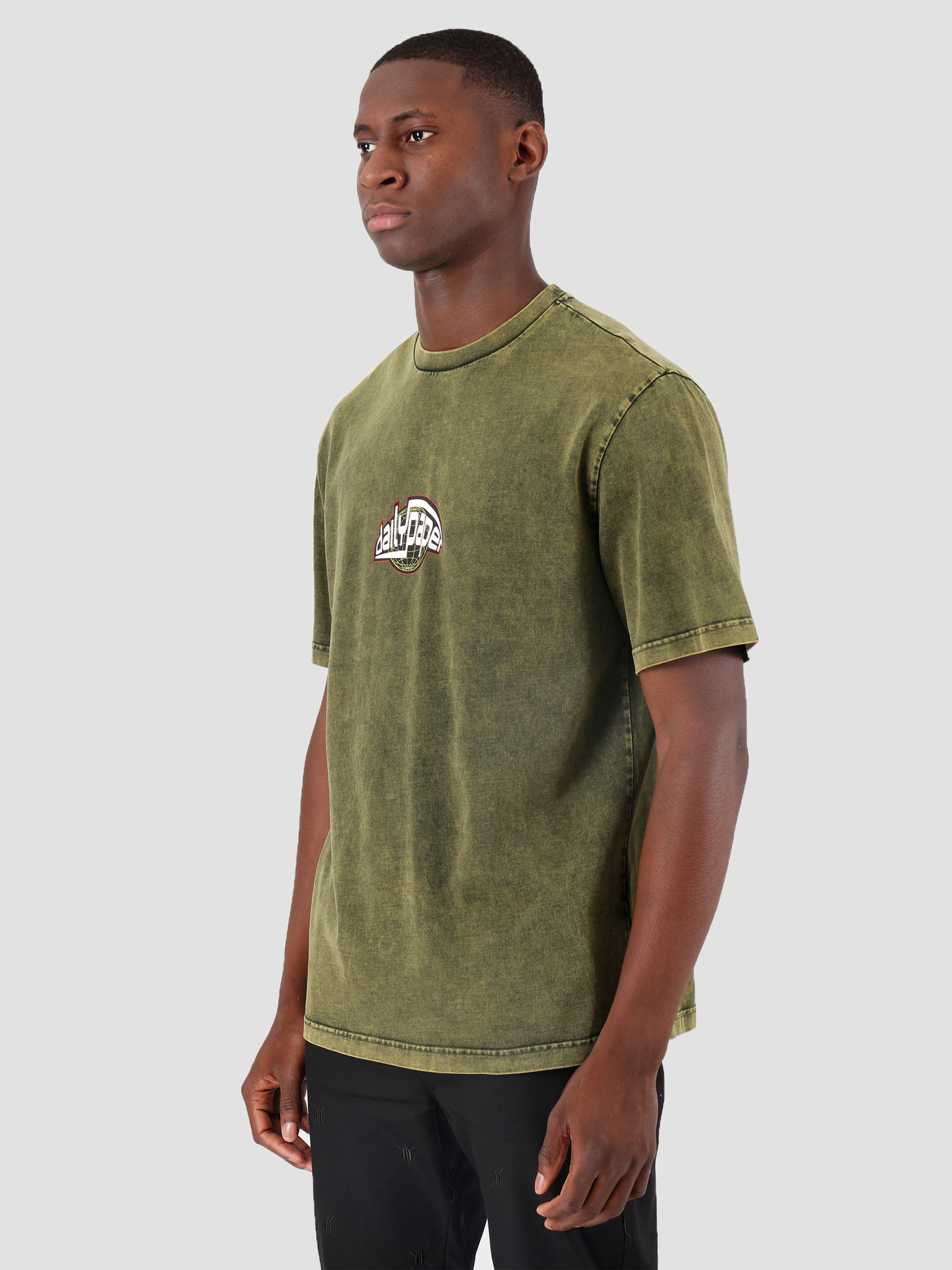Daily Paper Daily Paper Gusul T-Shirt Acid Macaw Green 19F1TS27-02