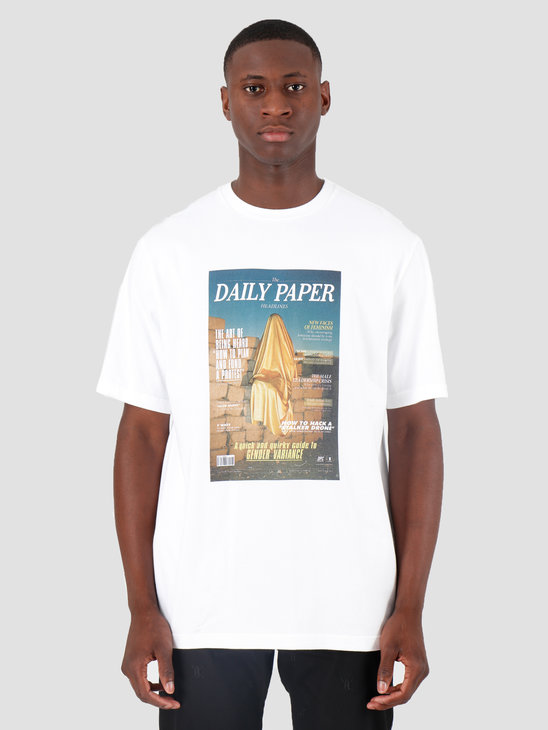 Daily Paper Gous 4 T-Shirt White 19F1TS30-04