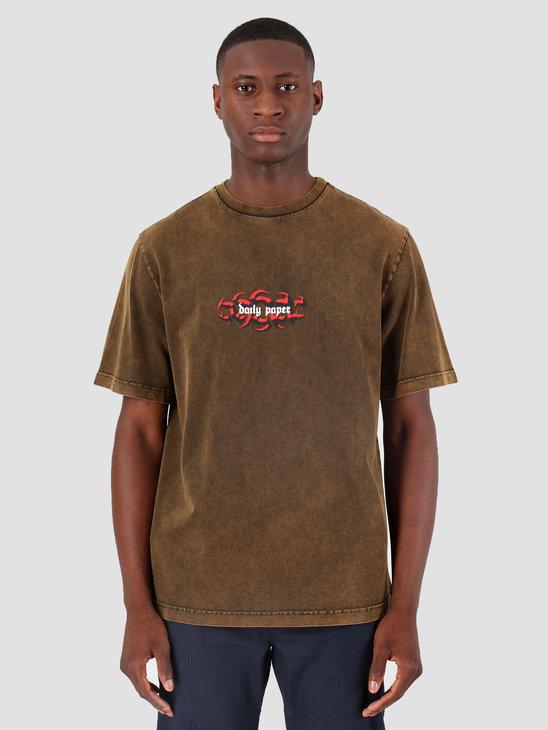 Daily Paper Gura T-Shirt Acid Pumpkin Spice 19F1TS28-01