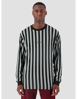 Carhartt WIP Carhartt WIP Longsleeve Barnett Shirt Barnett Stripe Black Cloudy Merlot I027073