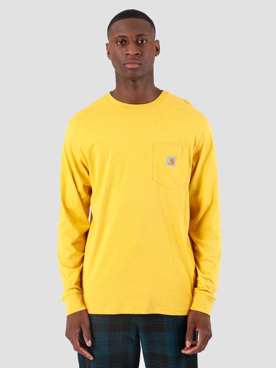 Carhartt WIP Longsleeve Pocket Shirt Colza I022094