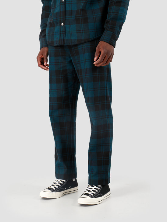 Carhartt WIP Pulford Pant Pulford Check Duck Blue I026998