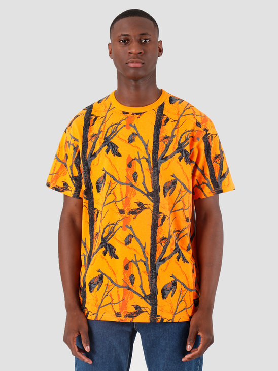 Carhartt WIP Military T Shirt Camo Tree Orange I022919