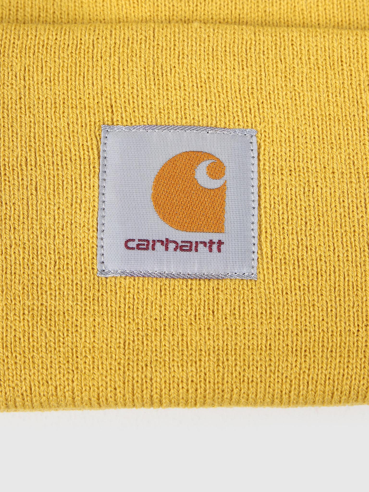 Carhartt WIP Carhartt WIP Acrylic Watch Hat Colza I020222