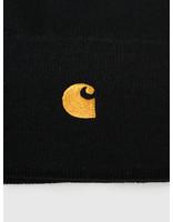 Carhartt WIP Carhartt WIP Chase Beanie Black Gold I026222