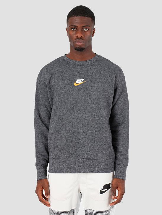Nike NSW Heritage Crw Black Htr 928427-012