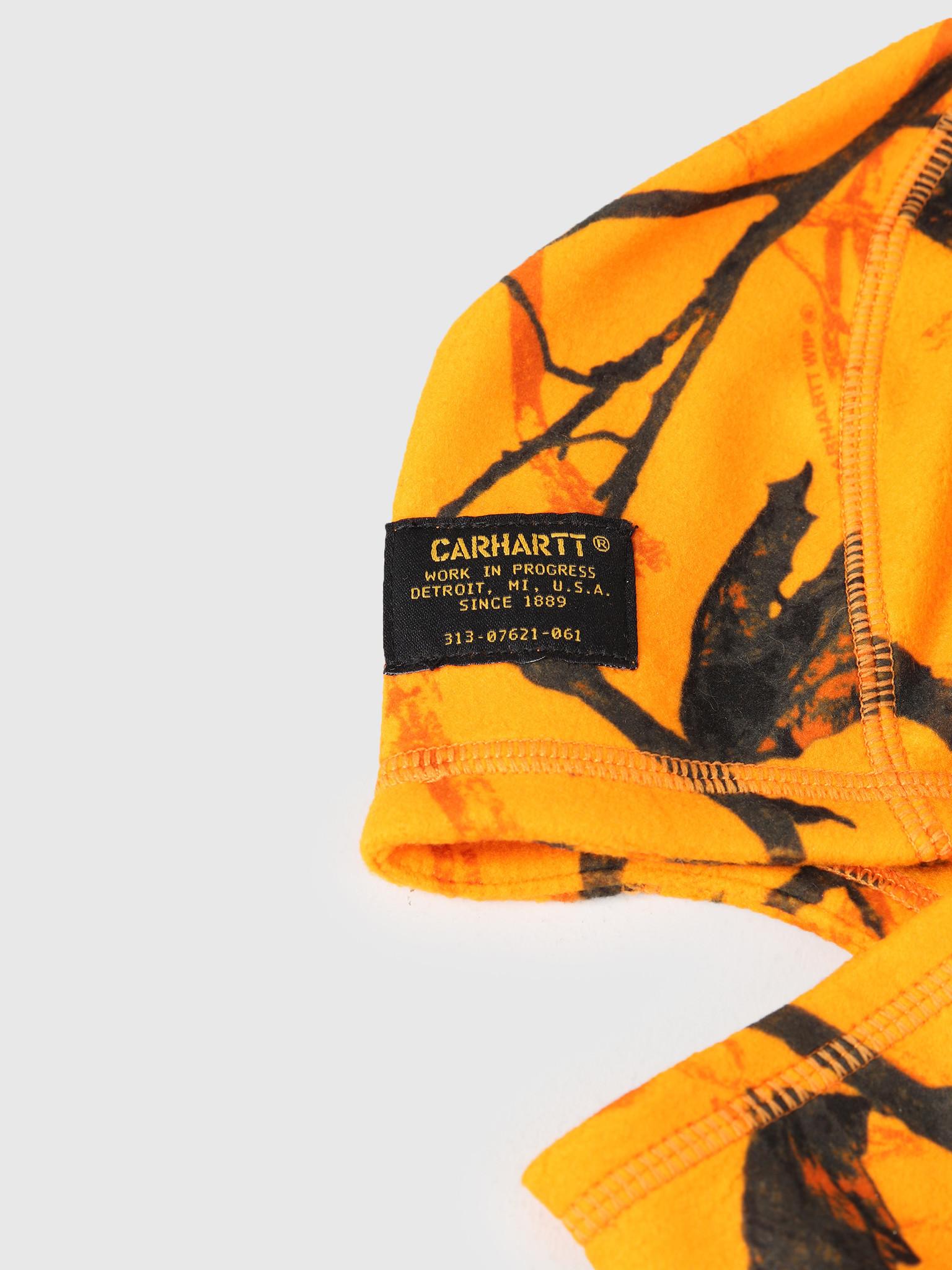 Carhartt WIP Carhartt WIP Mission Mask Camo Tree Orange I025397