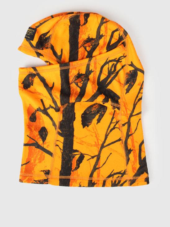 Carhartt WIP Mission Mask Camo Tree Orange I025397