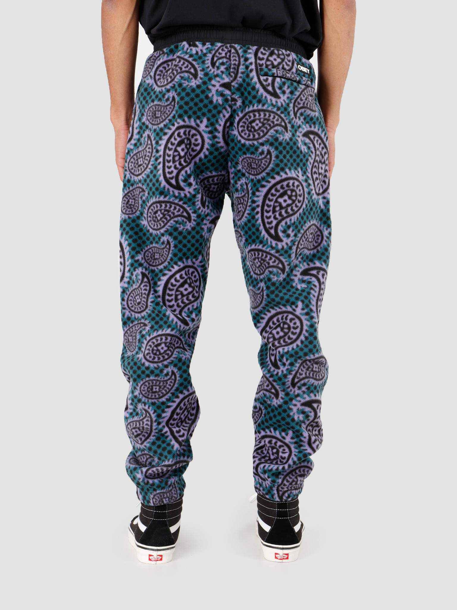 Obey Obey Easy Eisley Pant Paisley Teal 142020145-TEA