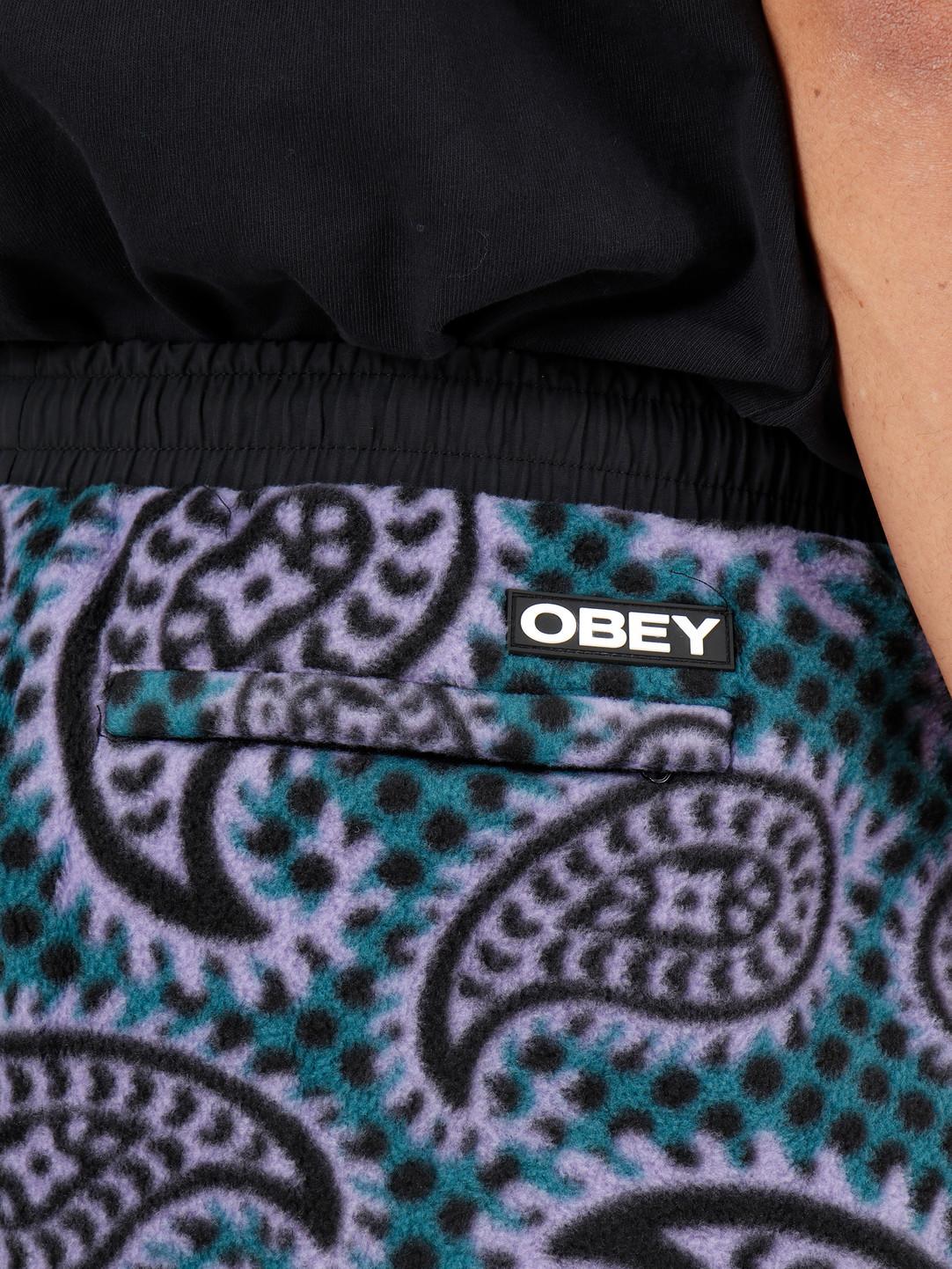 Obey Obey Easy Eisley Pant Paisley Teal 142020145-TEA