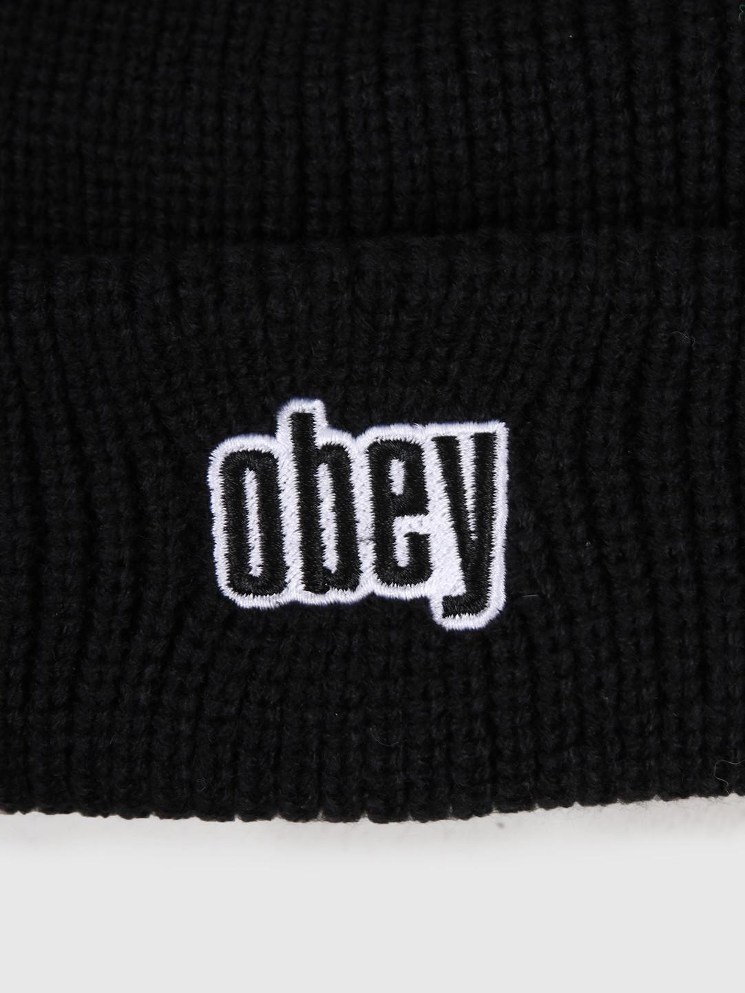 Obey Obey Jungle Beanie Black 100030139-BLK