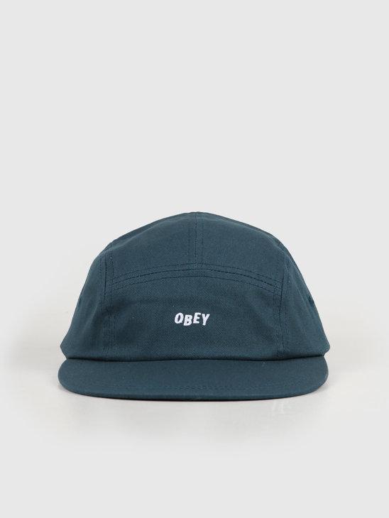 Obey Jumbled 5 Panel Hat Pine 100490057-PNE