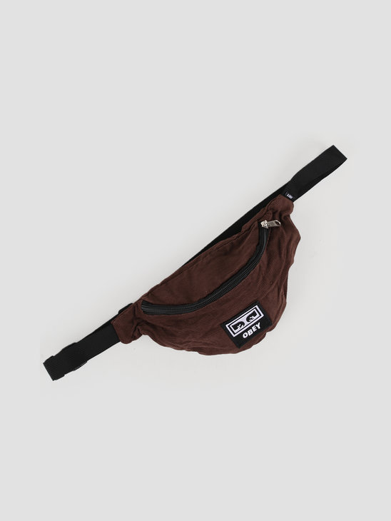 Obey Wasted Hip Bag Brown 100010098-BRN