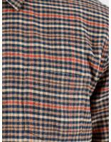 Libertine Libertine Libertine Libertine Miracle Dress Shirt Twill Red Check 1714