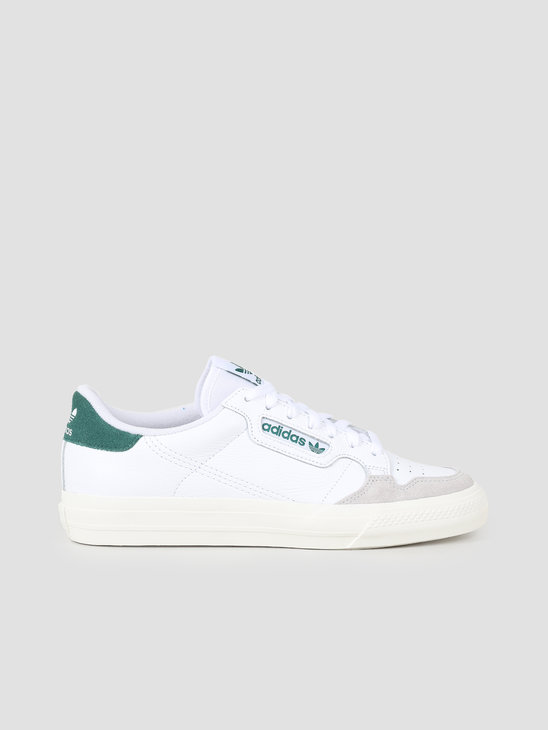 adidas Continental Vulc Ftwwht Ftwwht Cgreen EF3534