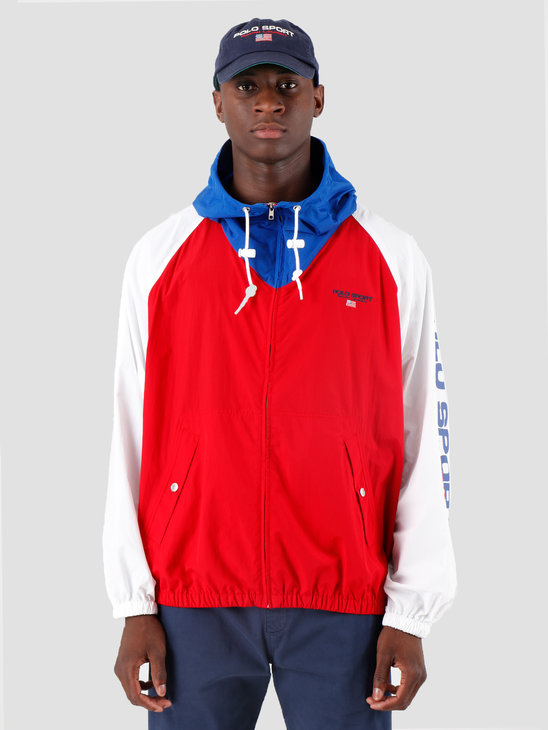 Polo Ralph Lauren OG Bucket Windbreaker Red 710754476001