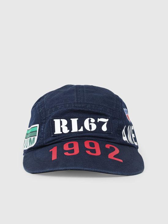 Polo Ralph Lauren 5Panell ongb Hat Ridge Wash 710755694001