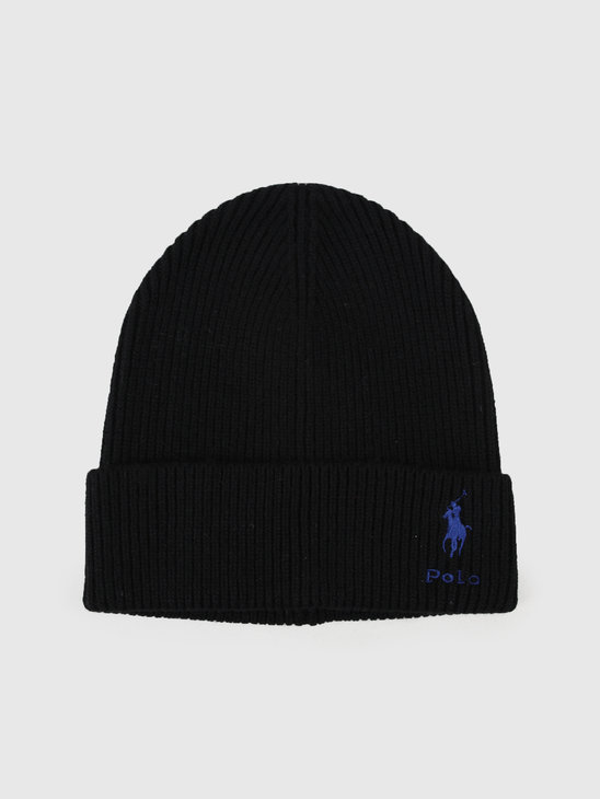 Polo Ralph Lauren Cashmere Hat Black 449775527001