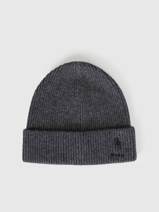 Polo Ralph Lauren Cashmere Hat Grey 449775527002