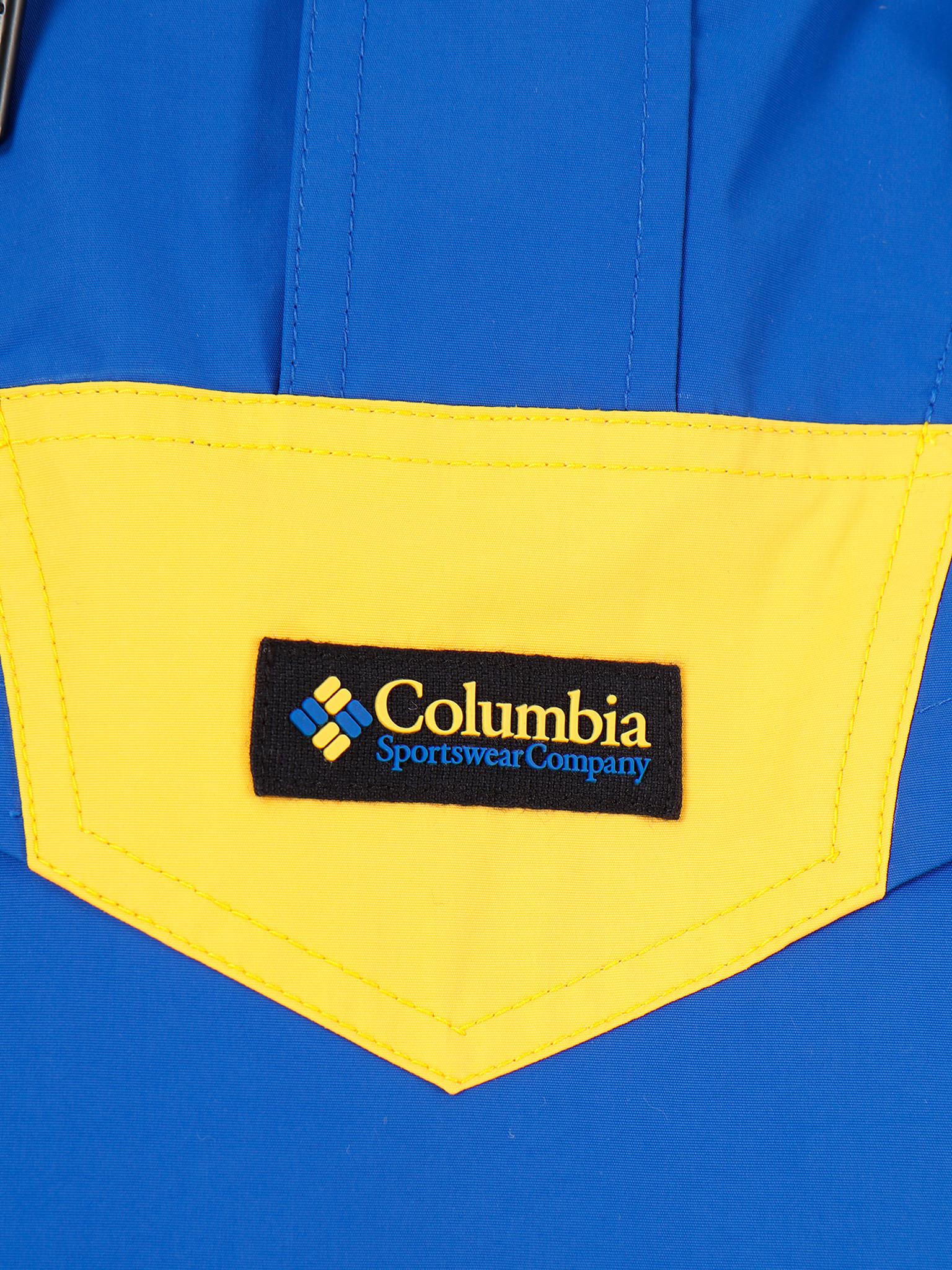 Columbia Columbia Monashee Anorak Azul Azul 1868802437