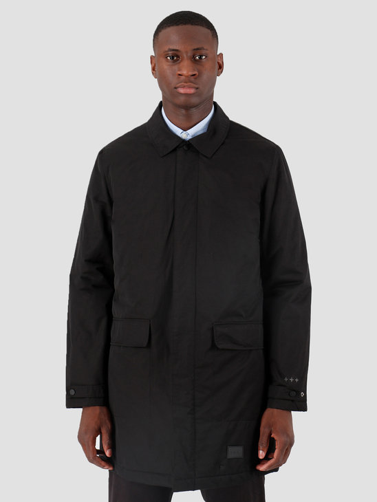 Quality Blanks QB26 Mac Coat 2-in-1 Black Black