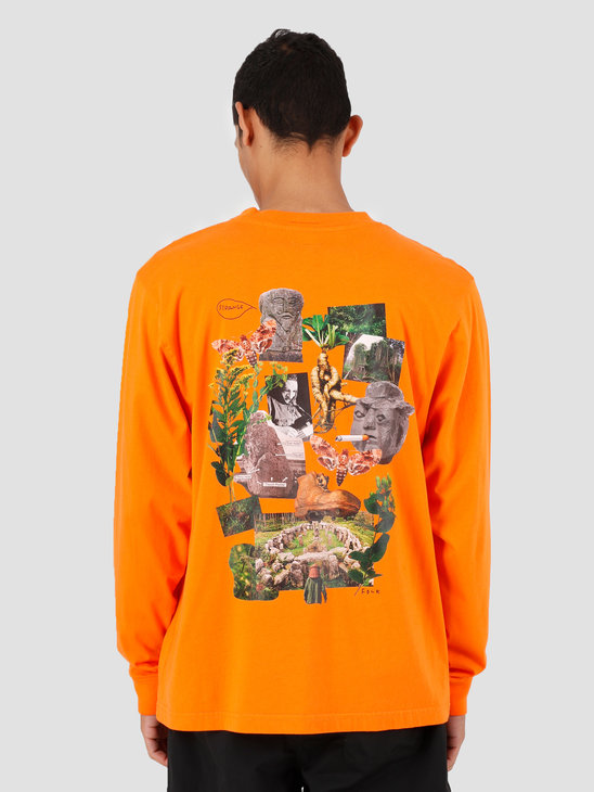 Heresy Growing T-Shirt Orange HAW19-T07O
