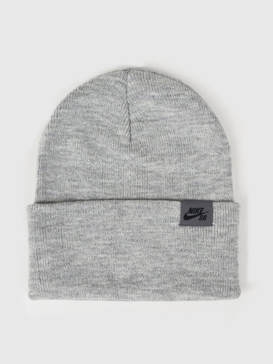 Nike SB Beanie DK Grey Heather Black Ci4456-063