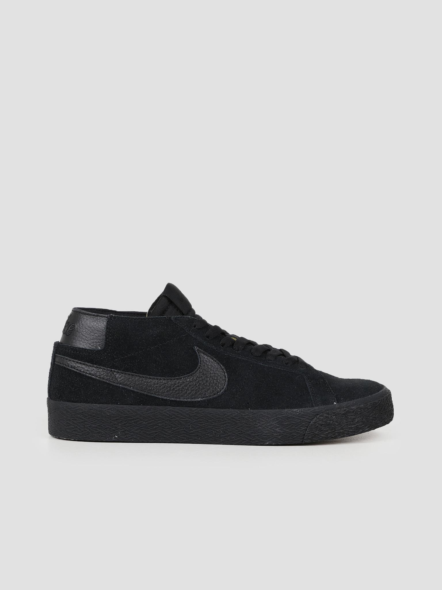 hot sale online 4e27d fdf3c Nike SB Zoom Blazer Chukka Black Black AT9765-004