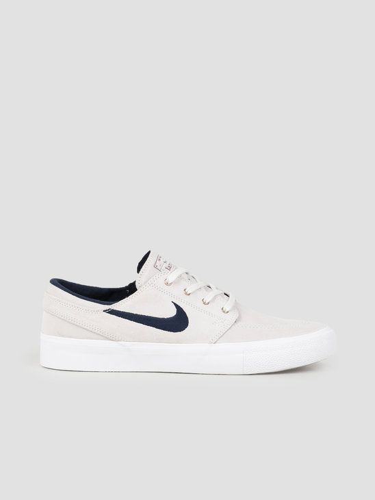 Nike SB Zoom Janoski Rm Summit White Obsidian Team Red AQ7475-101