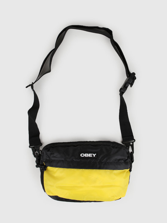 Obey Commuter Traveler Bag Black Multi 100010125-BKM
