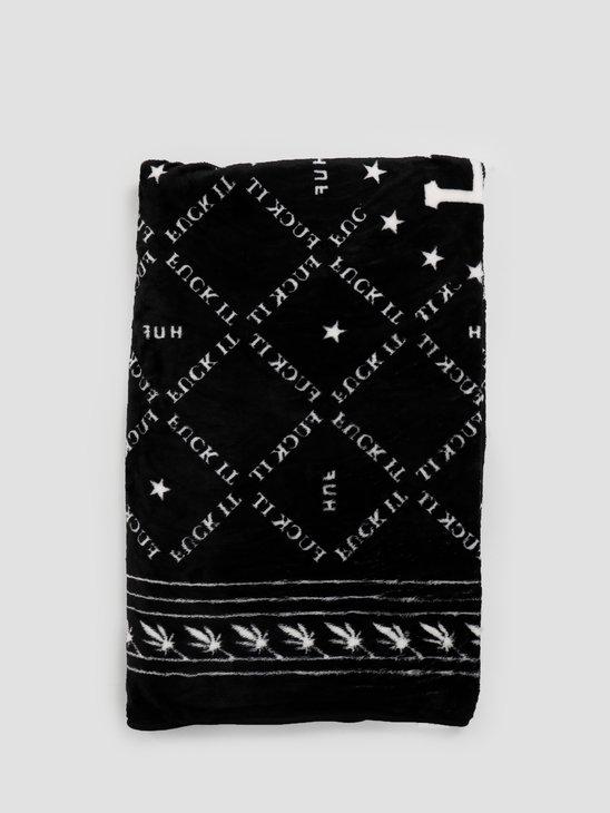 HUF Dusk Blanket Black AC00269-BLACK