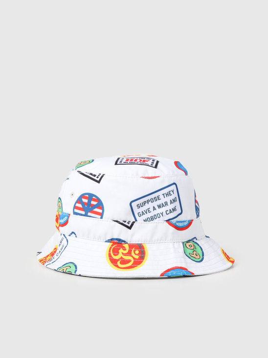 HUF Woodstock Bucket Hat Natural HT00429