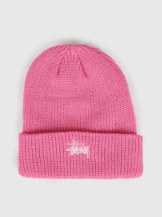 Stussy Fa19 Basic Cuff Beanie Pink 132934
